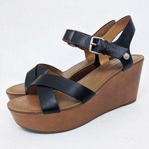 Tommy Hilfiger Wilo Wedge Platform Sandals 10  NEW